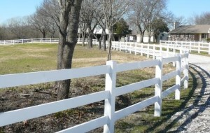 plastic fencing durability