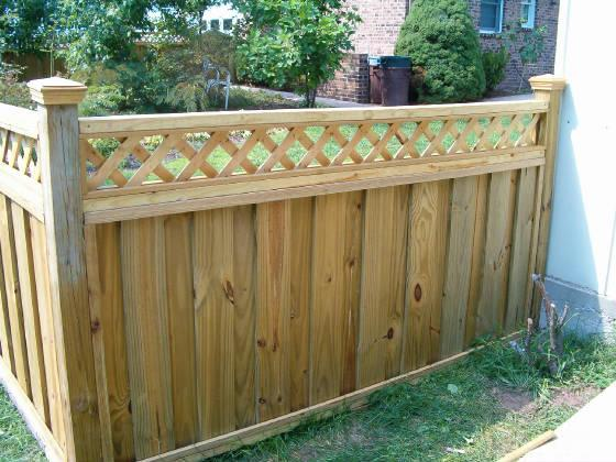 portable fencing wood